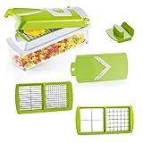 Genius Nicer Dicer Smart Set 6-tlg Gemüseschneider Zerkleinerer; A33904 Farbe Kiwi