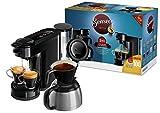 Philips Senseo HD6591/69 Switch 2-in-1 Kaffeemaschine (Sonderedition 100 Pads gratis nach Registrierung) schwarz