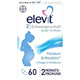Elevit 2, 60 Kapseln, Für den Nährstoffbedarf während der Schwangerschaft