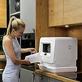 Freistehender Kompakt-Geschirrspüler, Table Top Geschirrspülmaschine, Tragbare Mini-Spülmaschine UV Hochtemperatur-Desinfektion Touch Panel, Einfach Zu Trocken, Energie Sparen, Für Home Restaurant