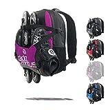 CADOMOTUS Urban Flow Gear Bag   15L Wettkampf Sport Rucksack für Kinder   Ultraleichte Sporttasche zum Skaten, Eislaufen und Radfahren   6 Fächer   Starkes Nylon   40x30x10 cm