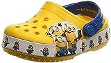 Crocs Unisex-Kinder Crocsfl Minions Multi K Clogs, Gelb (Yellow 730), 30/31 EU