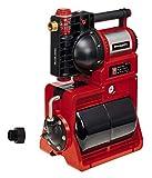 Einhell 4173530 Hauswasserwerk GE-WW 1246 N FS (1.200 Watt, 4600 L/h max. Fördermenge, Flow-Sensor inkl. LED-Anzeige, Schmutz-/Saug-/ Wasserfüllanzeige, Frostschutz, Trockenlaufsicherung, 20 l Tank)