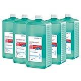 5x 1000 ml Eurofl. Schülke Desderman® Pure Händedesinfektionsmittel Desinfektionsmittel, farbstoff-/parfümfrei