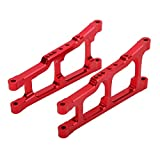 Jopwkuin Hervorragende Verarbeitung Rc Schwinge, für Slash 4X4 1/10 Ferngesteuerte Trucks(rot)