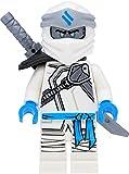 LEGO Ninjago Minifigur Zane mit Schulterklappe und Waffen (Staffel 11, Verbotenes Spinjitzu)