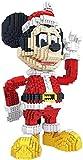 RSVT Disney Mickey Mouse Bausteine Micro Weihnachten Weihnachtsmann Donald Duck Mini Bricks Figur Spielzeug Für Kinder Geschenk,Mouse