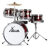XDrum Session Junior Drumset (Schlagzeug und Drumschool inkl. DVD) 2-4 J.