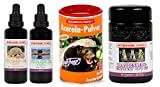 Franz OPC 65 (60 Kapseln) + Vitamin D3 Tropfen (50 ml) + Vitamin K2 Tropfen (50 ml) + Vitamin C Acerola-Pulver (175 g)