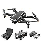 JJDSN Drohne mit 4K HD Dual Kamera für Kinder Erwachsene Anfänger FPV Live Video Faltbares RC Quadcopter Hubschrauber Spielzeug, Hindernisvermeidung, Höhenhaltung, 3D Flips, Headless Mode