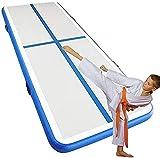 YAOJIA Turnmatte aufblasbar Aufblasbare Gymnastik Airtrack Taumelmatte Mit Elektrischer Luftpumpe |Für Den Heimgebrauch/Training/Cheerleading/Strand/Park (Color : 3x1x0.2m)