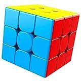 Dudniks Magischer Würfel, Zauberwürfel 3x3 - Stickerless Magic Cube 3x3x3 Glattes 3D Puzzle Spielzeug (55 mm) das lehrreichste Spielzeug- um die Konzentration und das Gedächtnis effektiv zu verbessern