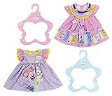 BABY born 828243 Kleid 43 cm - für Kleinkinder ab 3 Jahren - für kleine Hände - Einzeleinheit (verschiedene Muster)