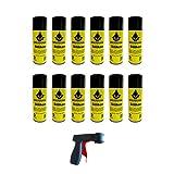 MOLYDUVAL Silikon Spray || Pflege-, Trenn- und Schmiermittel || Ein vielseitiges Formentrennmittel für Trennvorgänge in der kunststoff- und kautschukverarbeitenden Industrie