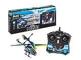 Revell Control 23827 RC Helicopter im modernen Polizei-Design Ferngesteuerter Heli, blau