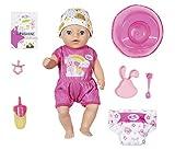 BABY Born 827321 Soft Touch Little Girl 36cm Puppe - Leicht für Kleine Hände, Kreatives Spiel fördert Empathie & Soziale Fähigkeiten, für Kleinkinder ab 2 Jahren - Inklusive Puppe, Kleidung & Zubehör