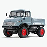 Tamiya 47465 Unimog 406 CC02 vorlackiert 1:10 Elektro RC Modellauto Bausatz