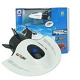 DFERGX Kleines Mini-RC-U-Boot-Hochgeschwindigkeitsboot Hochleistungs-Yacht Wasserspielzeug Wasserdichtes Spielzeug Kinder-RC-Boot-Geschenke Für Erwachsene Und Kinder