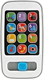 Fisher-Price BHB90 Lernspaß Smart Phone Lernspielzeug mit Liedern Sätzen und blinkenden Lichtern, ab 6 Monaten deutschsprachig
