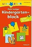 LERNSTERN Mein lustiger Kindergartenblock Spielen und Lernen: Spielen und lernen ab 3 Jahren
