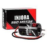 INJORA RC Motor 550 Brushed Motor für 1:10 RC Crawler Axial SCX10 AXI03007 JL 90046 TRX4 TRX6 RC Car Boat (12T)