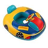 UOGAR Baby Kleinkind Schwimmsitz Kinder PVC Aufblasbarer Sicherer Schwimmring Schwimmsitz für Schwimmbad Wasserspielzeug
