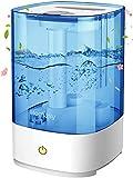 Homasy Ultraschall Luftbefeuchter,4.5L Top-Füllung Humidifier bis zu 40-50m², 28dB Ultra Leise Raumluftbefeuchter,Luftbefeuchter Schlafzimmer mit Schlafmodus,30h Arbeitszeit,Blue