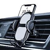 Amazon Brand - Eono Handyhalterung Auto, Handy Halterung für Auto Lüftung 360 Grad drehbare Handyhalterung, Entriegelung mit nur einem Tastendruck Universal Handy Halter für iPhone Huawei Galaxy