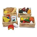 Melissa&Doug Lebensmittelgruppen | Fantasiespiel | Essensspiel | 2+ | Geschenk für Jungen oder Mädchen