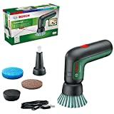 Bosch Akku Reinigungsbürste UniversalBrush (integrierter 3,6-V-Akku, 1 Micro-USB-Kabel und 4 Reinigungsaufsätze enthalten, im Karton)