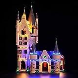 Beleuchtungsset für Lego Harry Potter Astronomieturm auf Schloss Hogwarts LED Licht-Kit Kompatibel mit Lego 75969 Modell (Nicht Enthalten Lego Modell)