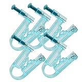 Pixnor 5 Stücke Einweg Ohrlochpistole Set Ohr Nasenpiercing Maschine Ohrstecker Ohrlochstecher Keine Schmerzen Sicherheit Asepsis für Körper Lippen Nase