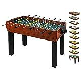 Multifunktionsspieltisch für die ganze Familie (10 in 1) - Kicker Multi Spieltisch - Multitisch Kinder - Multispieletisch - Tischkicker-Multifunktionstisch