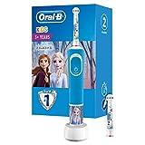 Oral-B Kids Frozen Wiederaufladbare Elektrische Zahnbürste Powered By Braun, 1 Handstück, für Kinder ab 3 Jahren