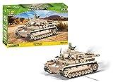 Cobi 2546 - Panzerkampfwagen IV AUSF. G '♠7'- Afrikakorps (599 Teile)