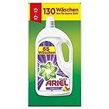 Ariel Waschmittel Flüssig, Flüssigwaschmittel, Color Waschmittel, 130 Waschladungen (2 x 3.575 L) Farbschutz