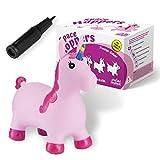 all Kids United® Hüpftier Sprungpferd - Hüpfpferd Sprungtier + Pumpe (Einhorn)