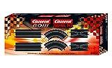 Carrera 20061600 Ausbauset 1 – Erweiterungsset für die GO!!!, GO!!! PLUS oder DIGITAL 143 – Einfaches Wechseln der Spuren