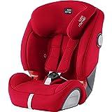 Britax Römer Kindersitz 9 Monate - 12 Jahre I 9 - 36 kg I EVOLVA 123 SL SICT Autositz Isofix Gruppe 1/2/3 I Fire Red
