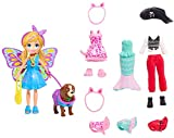 Polly Pocket GDM15 Kostümparty-Set Mini-Puppe mit Verschiedene Outfits