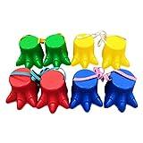 FreshWater 4 Paar Stelzen-Sprungspielzeug aus Kunststoff, niedlich, für Kinder im Freien, Spaß, Sport, Gleichgewichtstraining, Spielzeug