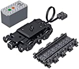 LAKIOMZ City Cargo Zug Set Bauset 431 Steine Kompatibel mit Lego (Ql0316)