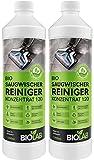 BIOLAB Bio Saugwischer Reinigungsmittel (2 x 1000 ml) Wischsauger Bodenreiniger Konzentrat