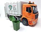 Müllabfuhr Spielzeugauto Müllauto LKW mit Licht & Sound Modul, 40 cm