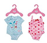 Zapf Creation 830130 BABY born Body 43 cm - rosa oder türkise Puppen-Body- 1 Stück, Farbe nach Vorrat
