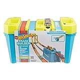 Hot Wheels GLC95 - Track Builder Unlimited Mehrspurige Speed Box mit 4-spuriger Startschranke für Stunts, Spielzeug ab 6 Jahren