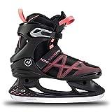 K2 Skates Damen Schlittschuhe Alexis Ice Pro — Black - Rose — EU: 38 (UK: 5 / US: 7.5) — 25E0031