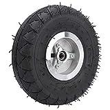 Wosune Gummireifen, Elektroroller Reifreifen 4.10‑3.50‑4 Reifen für Trolleys für elektrische Dreiräder für Rasenmäher