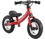 BIKESTAR Kinder Laufrad Lauflernrad Kinderrad für Jungen und Mädchen ab 2 - 3 Jahre | 10 Zoll Sport Kinderlaufrad | Rot | Risikofrei Testen
