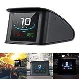 Coomir P10 Auto HUD Head up Display Auto HUD Display Intelligente Digitale Tachometer LCD Display OBD 2 Scanner Diagnosewerkzeug GPS Smart mit Überdrehzahlalarm Voltmeter Warnung